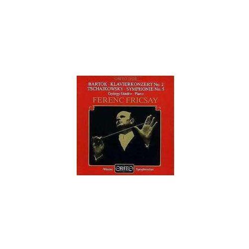 Czajkowski p / bartok b - klavierkonz. no. 2 / symph. no. 5 wyprodukowany przez Orfeo