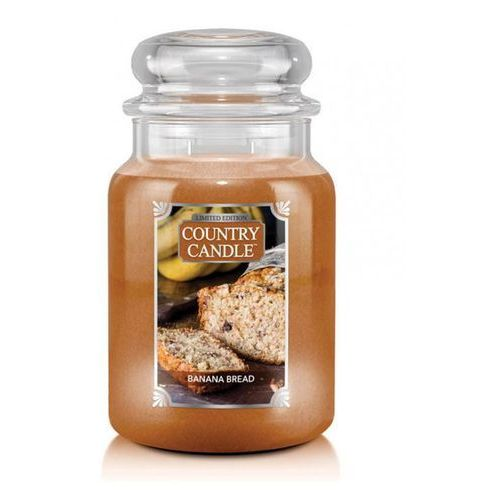 Country candle świeca banana bread 680g marki Kringle candle