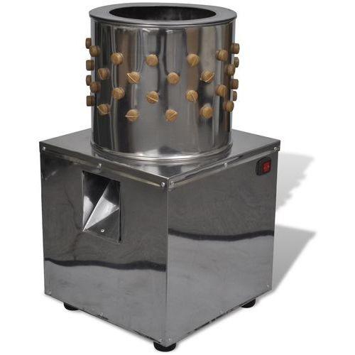 Vidaxl  elektryczna skubarka do drobiu z 98 palcami 27 cm