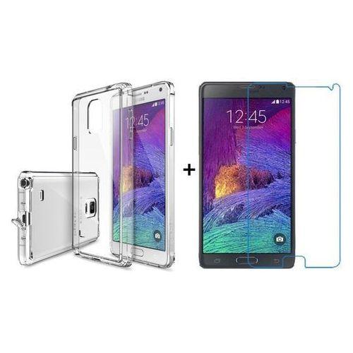 Zestaw | rearth ringke fusion crystal view + szkło ochronne | etui dla samsung galaxy note 4 marki Rearth / perfect glass