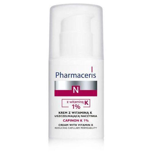 Eris pharmaceris n capinon k 1% krem z witaminą k uszczelniająca naczynka 30ml, marki Dr irena eris