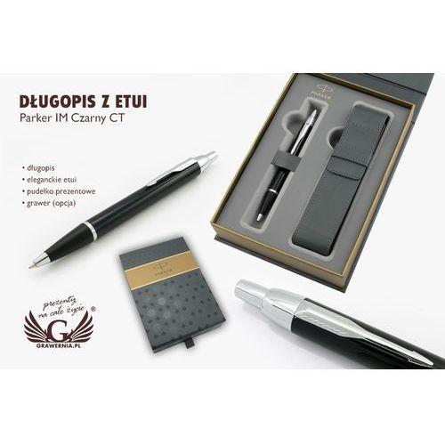 Długopis parker im czarny ct z etui - par075-sw6 marki Grawernia.pl - grawerowanie i wycinanie laserem