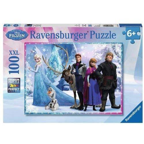 Puzzle 100 el. Frozen Rodzina na zawsze (4005556105717)