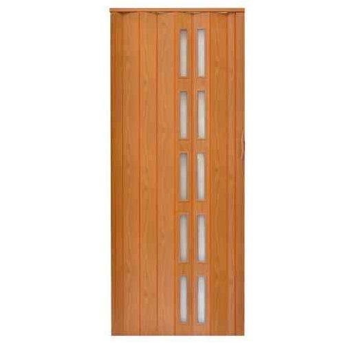 Gockowiak Drzwi harmonijkowe 005s 026 ciemna olcha mat 80 cm