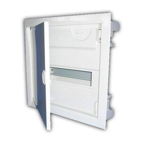 MSF RP 1/14 IP30 N+PE drzwi metalowe białe 2001-00