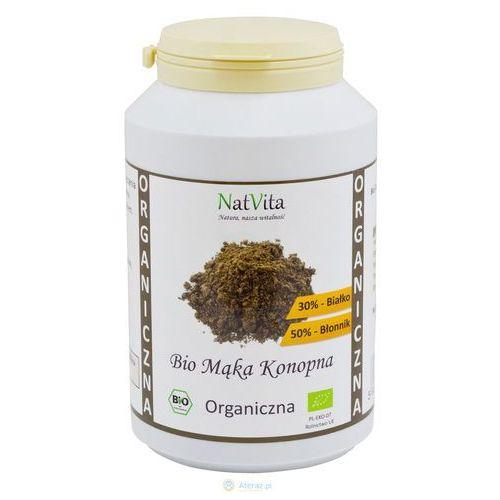 Mąka konopna bio białko 30% 500g  marki Natvita