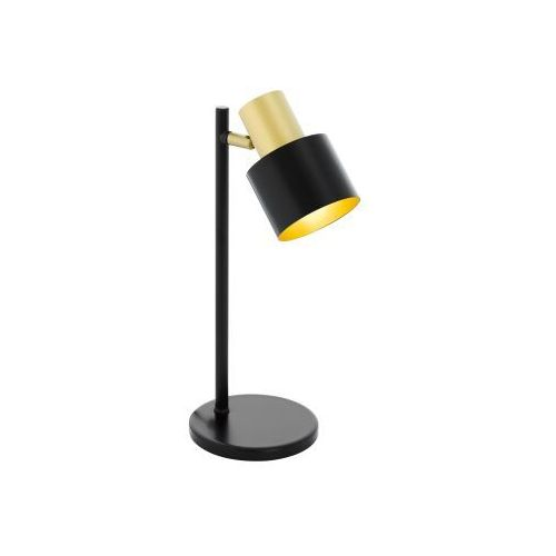 fiumara lampa stołowa czarny, złoty, 1-punktowy - design - obszar wewnętrzny - fiumara - czas dostawy: od 10-14 dni roboczych marki Eglo
