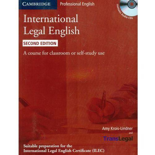 International Legal English + CD, Cambridge University Press