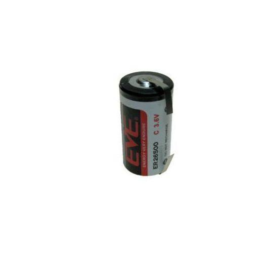 Eve Bateria litowa er26500/cnr 8500mah 8.5ah 3.6v c z blaszkami lutowniczymi (0637913447099)