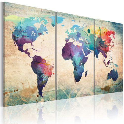 Artgeist Obraz - świat malowany akwarelami