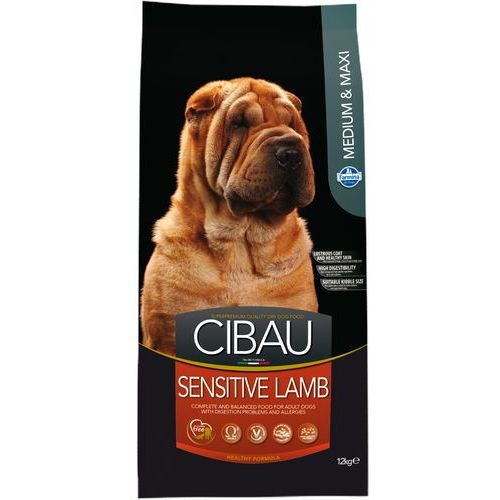 Farmina Cibau Adult Medium/Maxi Sensitive Lamb 12kg+2kg GRATIS