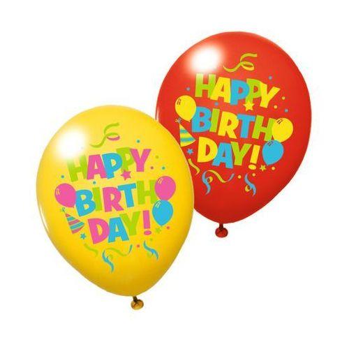 Pelikan Balony balon na urodziny 6szt susy-card - happy birthday