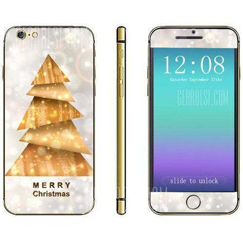 Anti - scratch Phone Sticker Decal Skin with Christmas Tree Style for iPhone 6 - 4.7 inches z kategorii Futerały i pokrowce do telefonów