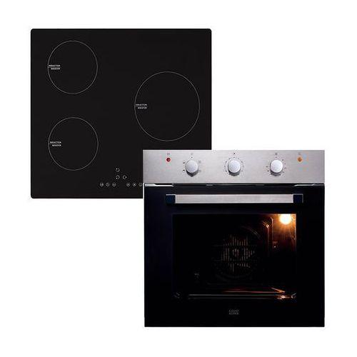 Cooke&lewis Zestaw piekarnik z płytą indukcyjną 3 strefy (3663602891307)