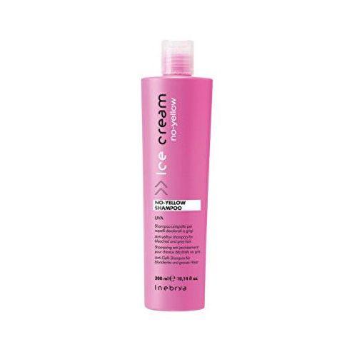 Inebrya no-yellow szampon neutralizujący żółtawe odcienie (anti-yellow shampoo for bleached and grey hair ) 300 ml (8033219167198)