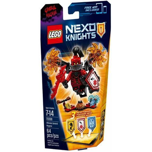 LEGO NEXO KNIGHTS, Generał MAgmar, 70338 rabat 10%