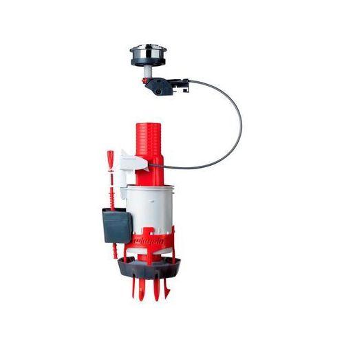 Dwufunkcyjny mechanizm spłuczki wc easy clic marki Wirquin