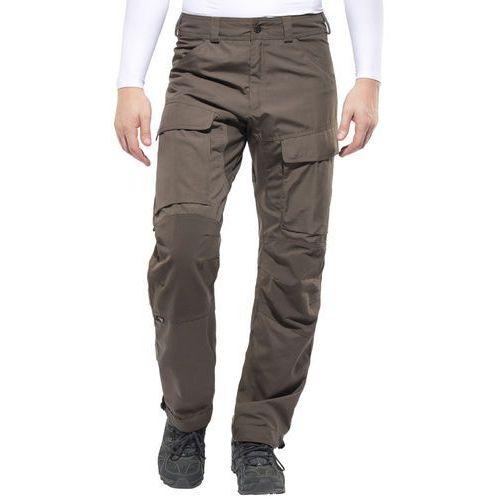 Lundhags Authentic Spodnie długie Mężczyźni Regular oliwkowy 56 2018 Spodnie turystyczne, poliester