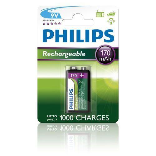 Philips bateria 9V 170 mAh elem (9VB1A17/10) (8710895962988)
