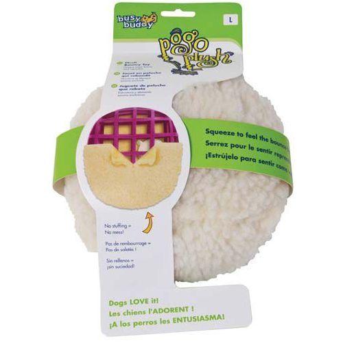 Duża piłka pluszowa Pogo Plush dla psa