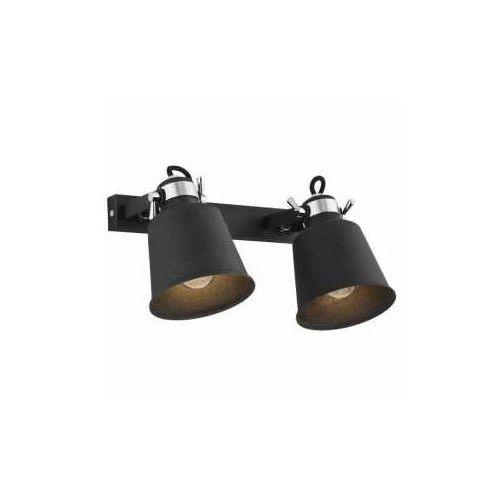 Kinkiet lampa ścienna kongo 673 regulowana oprawa listwa reflektorki czarne marki Mdeco
