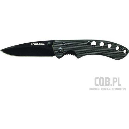 Nóż liner lock drop point blade sch107albk marki Schrade
