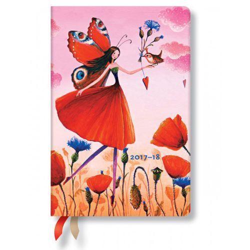 Kalendarz 2017-18 18-mc Poppy Field Mini Hor