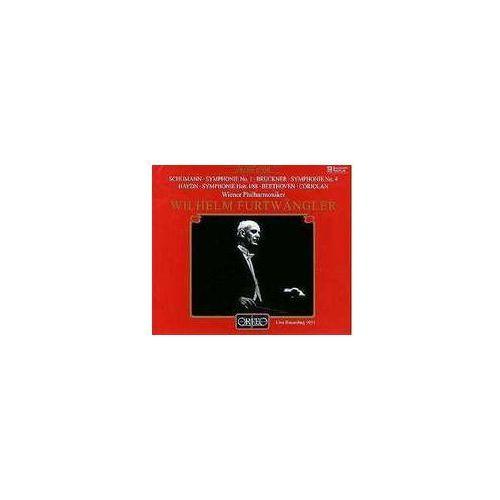 Orfeo Schumann r / bruckner a - symph. no. 1 / symph. no. 4 + haydn,