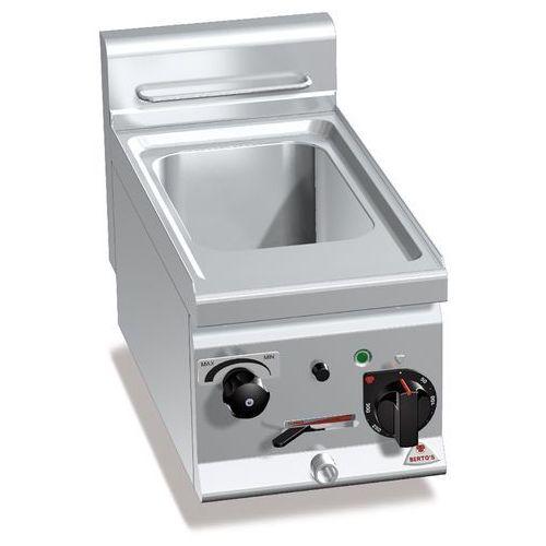 Urządzenie do gotowania makaronu i pierogów elektryczne, nastawne, jednokomorowe 11 l, 27,5 kW, 300x600x290 mm   BERTO'S, Plus 600, PASTA ITALY, E6CP3B
