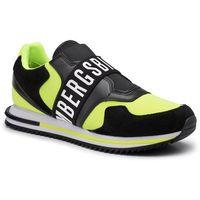 Sneakersy - haled b4bkm0053 yellow fluo/black marki Bikkembergs