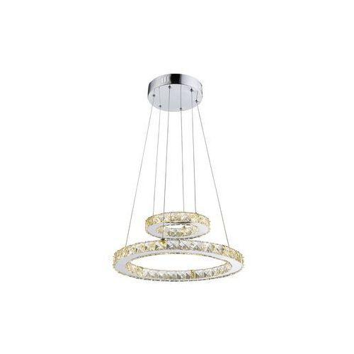 Globo lampa wisząca led przezroczysty, chrom, 1-punktowy - - obszar wewnętrzny - i - czas dostawy: od 3-6 dni roboczych marki Globo lighting
