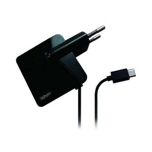 Ładowarka AZURI USB-C 2.4A Czarna (AZTCUSBC-BLK) Darmowy odbiór w 20 miastach!, AZTCUSBC-BLK