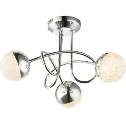 Globo UTILA Lampa Sufitowa LED Chrom, 3-punktowe - Nowoczesny - Obszar wewnętrzny - UTILA - Czas dostawy: od 6-10 dni roboczych