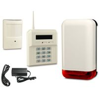 Elmes electronic Bezprzewodowy zestaw alarmowy elmes, 1 x czujnik, sygnalizator