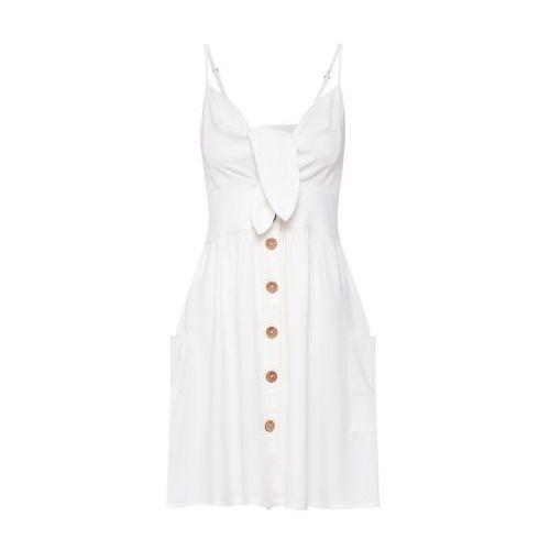 ROXY Letnia sukienka 'Under the Cali Sun' biały, w 5 rozmiarach