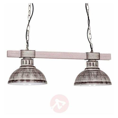 Lampa wisząca hakon 2xe27/60w/230v szara marki Luminex