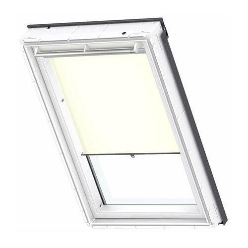 Velux Roleta na okno dachowe dekoracyjna standard rhl sk08 114x140 na haczykach beżowa