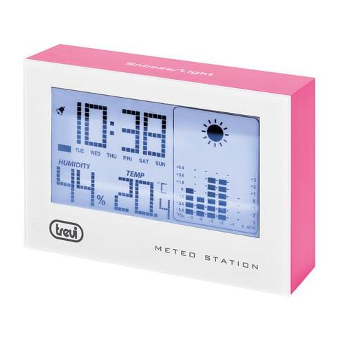 Stacja pogody Trevi ME3103 - Różowy