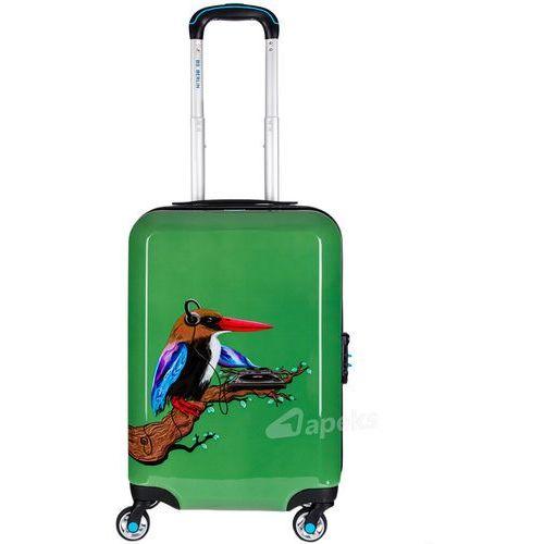 BG Berlin URBE mała walizka kabinowa na 4 kółkach 23/56 cm / Tropical Sound - zielony