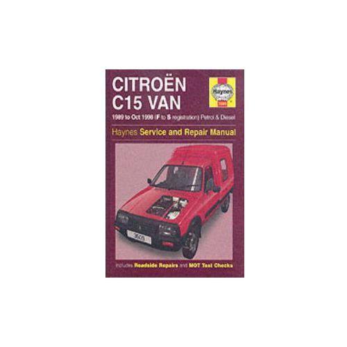 Citroen C15 Van Service and Repair Manual