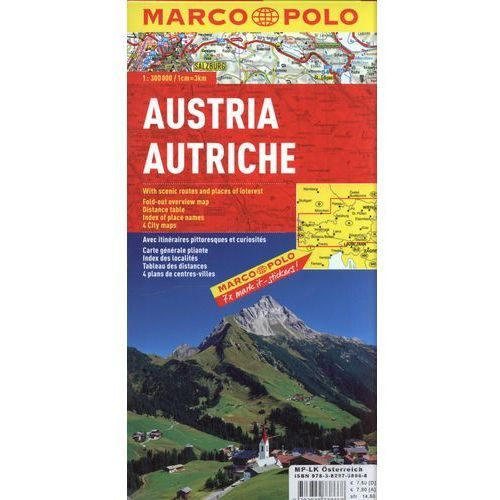 Austria MP mapa sam.1:300 000 (9783829738668)