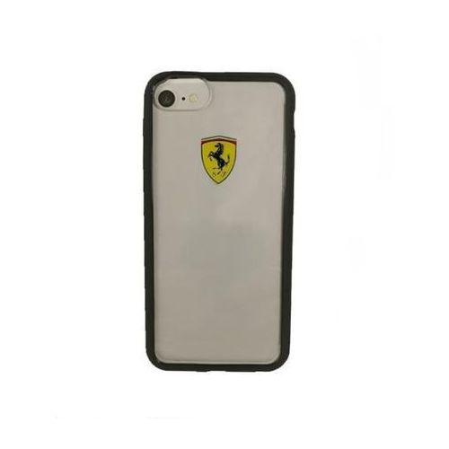 Ferrari Hardcase FEHCRFP7BK iPhone 7 (przezroczysty/czarny), FEHCRFP7BK