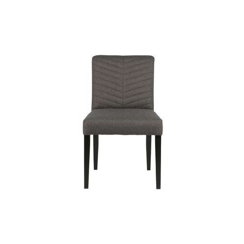 Woood Krzesło do jadalni Keet polyester antracytowe 340955-A (8714713067862)