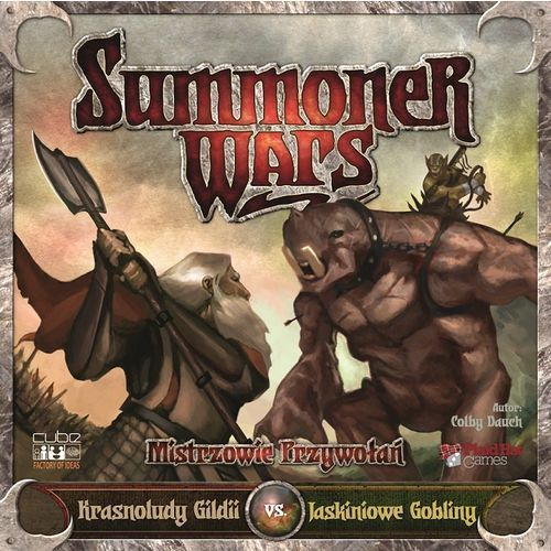 Cube - factory of ideas Summoner wars krasnoludy gildii vs jaskiniowe gobliny (5902768838022)