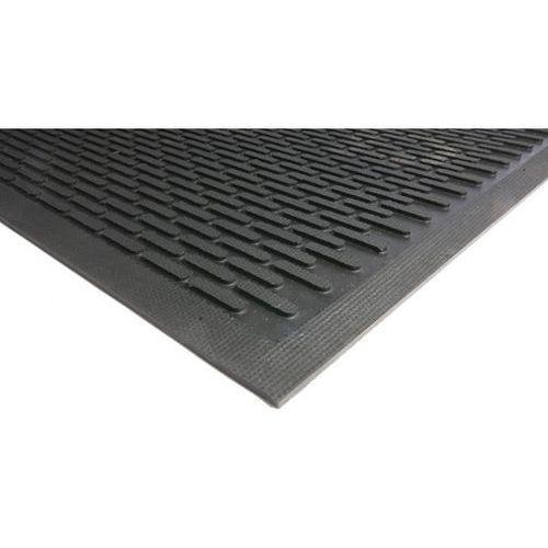 Mata wychwytująca brud, guma, czarna, dł. x szer. 1750x1150 mm. Solidny chlapacz