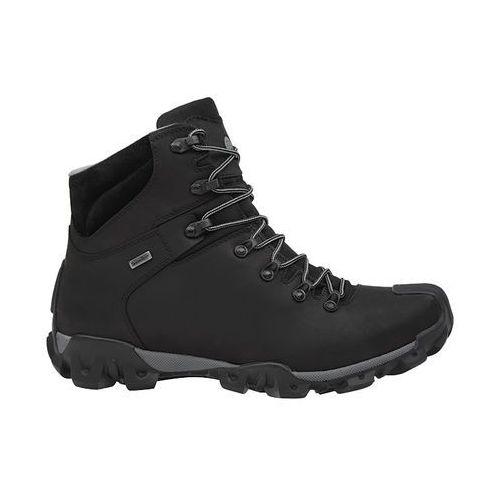 Trzewiki trekkingowe BADURA 4567-054 Czarne SympaTex - Czarny