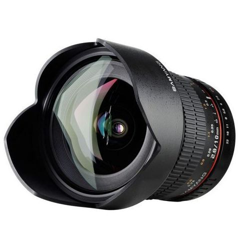 Samyang Karta kurier gratis  10 mm f2.8 obiektyw mocowanie olympus 4/3