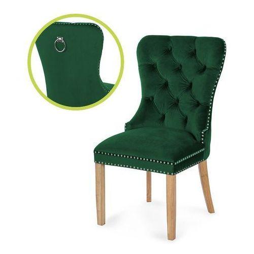 Krzesło madame ii zielony/dąb/ so260 marki Atreve