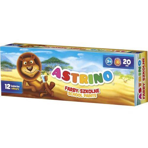 Farby szkolne ASTRA Astrino 12 kolorów 20 ml