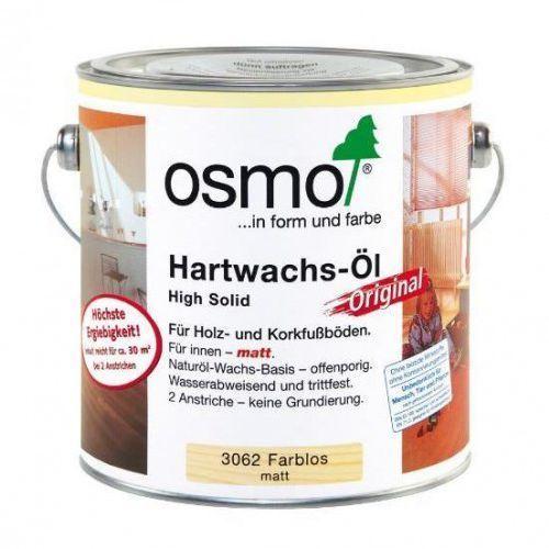 OSMO 3062 Wosk Twardy Olejny ORIGINAL 10 L - MATOWY BEZBARWNY z kategorii Woski i płyny do impregnacji podłóg